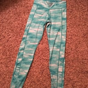 Turquoise Under Armour Leggings